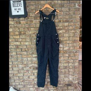 Calvin Klein vintage navy khakis overalls